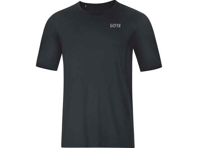 GORE WEAR R3 Koszulka do biegania z krótkim rękawem Mężczyźni czarny